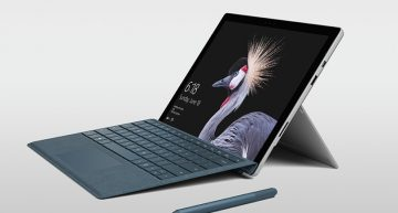 The new Surface pen features the tilt functionality