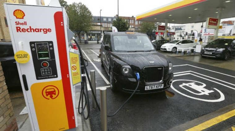 Oil Major, Shell Opens Electric Vehicle Charging Points In The  UK