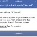 Facebook uses Your Photo As Login Authentication In Cases Of Suspicious Activity
