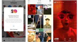 Instagram Introduces A Private Archive Your Stories