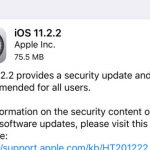 Apple Releases iOS 11.2.2 Update Because Of The Spectre and Meltdown flaws