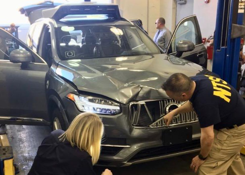 Uber Suspended From Autonomous Vehicle Testing In Arizona Following Fatal Crash