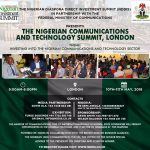 Press Release: NDDIS First-ever Nigerian Communications and Technology Summit to hold in London on May 10 -11