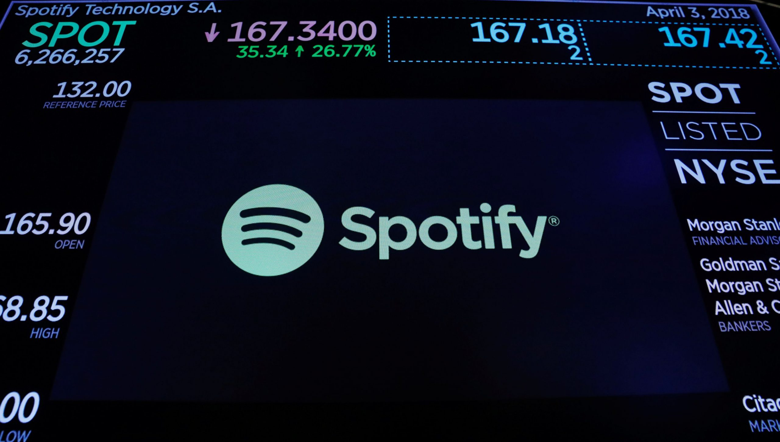 Spotify Hits 75 million Paid Subscribers As It Releases First Earnings