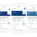 Google Wants To Make College/University Search Easier