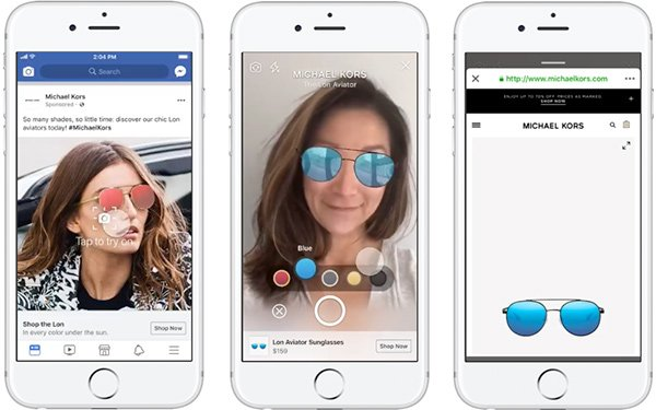 Facebook Starts Testing AR Ads In The News Feed