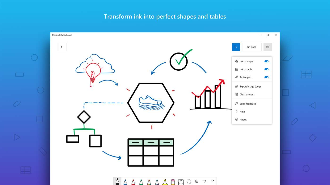 Microsoft Whiteboard app comes to iOS and Windows 10, gets ...