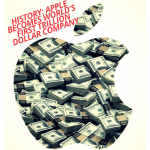 Apple Makes History As The First Trillion Dollar Company By Market Cap
