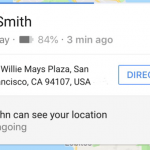 Google Maps Location Sharing Now Also Shares Your Phone's Battery Life