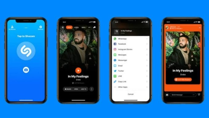You Can Now Share Songs You Shazam Directly To Instagram Stories