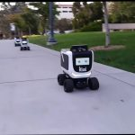 Delivery Robot Catches Fire; Company Blames It On Human Error