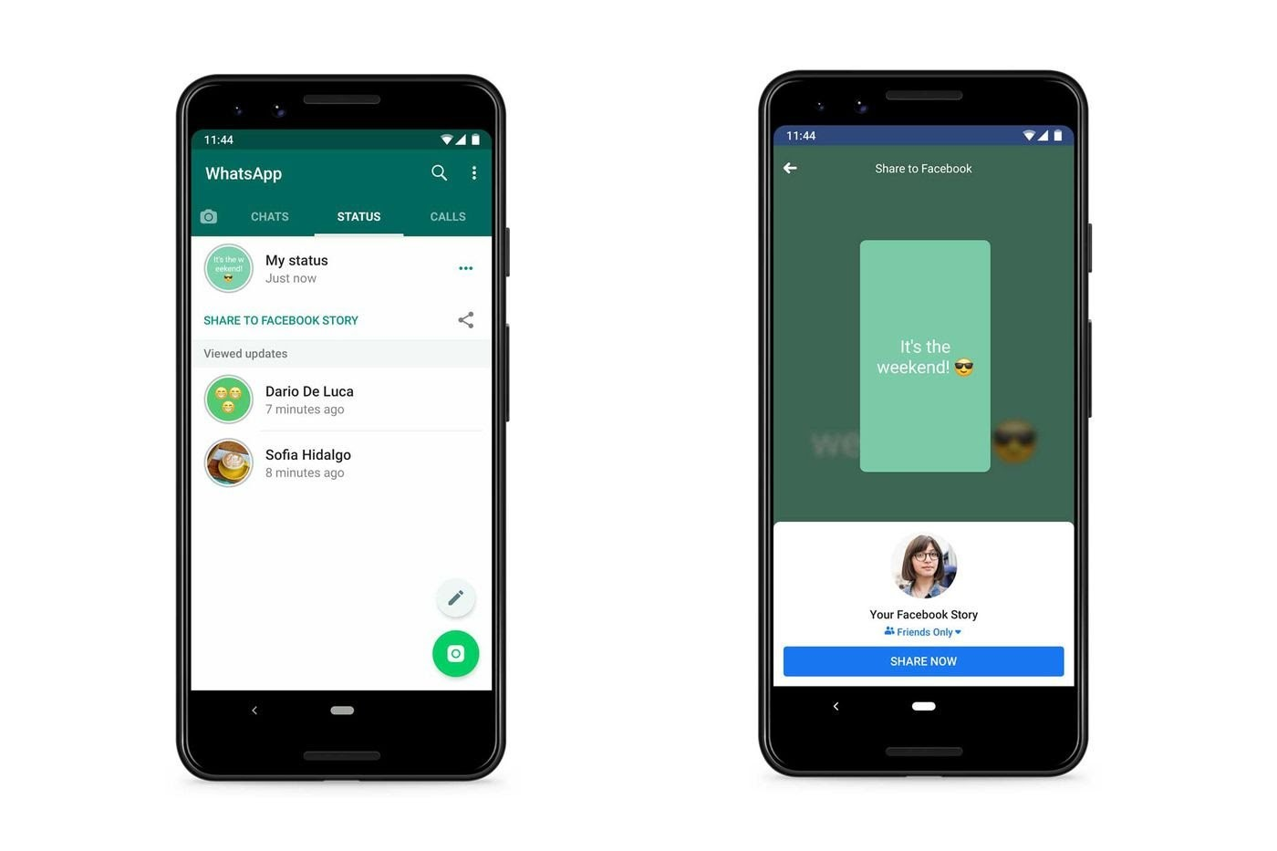 WhatsApp Testing Feature That Shares Your Stories To Facebook, Gmail And More