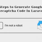 How To Generate Google Recaptcha Code In Laravel?