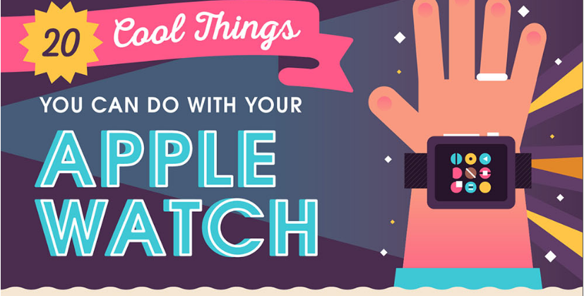 Infographic: 20 Cool Things You Can Do With Your Apple Watch