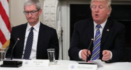 Tim Cook, Apple Ceo Warns President Trump About China Tariffs And Samsung Competition