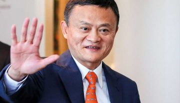 Jack Ma The Alibaba Chief Worth Nearly $40b Takes A Bow From Company At 55