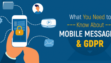 Infographic: What You Need to Know About Mobile Messaging & GDPR