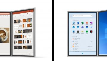 Here's The Microsoft Surface Duo, A Phone That May Not Be A Phone