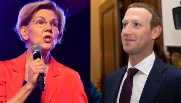 Zuckerberg Says Warren For US President Is A Nightmare For Tech