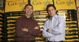 Google Co-Founders Larry Page And Sergey Brin Take A Bow From Company