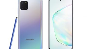 Galaxy Note10 Lite is available in Aura Glow, Aura Black and Aura Red