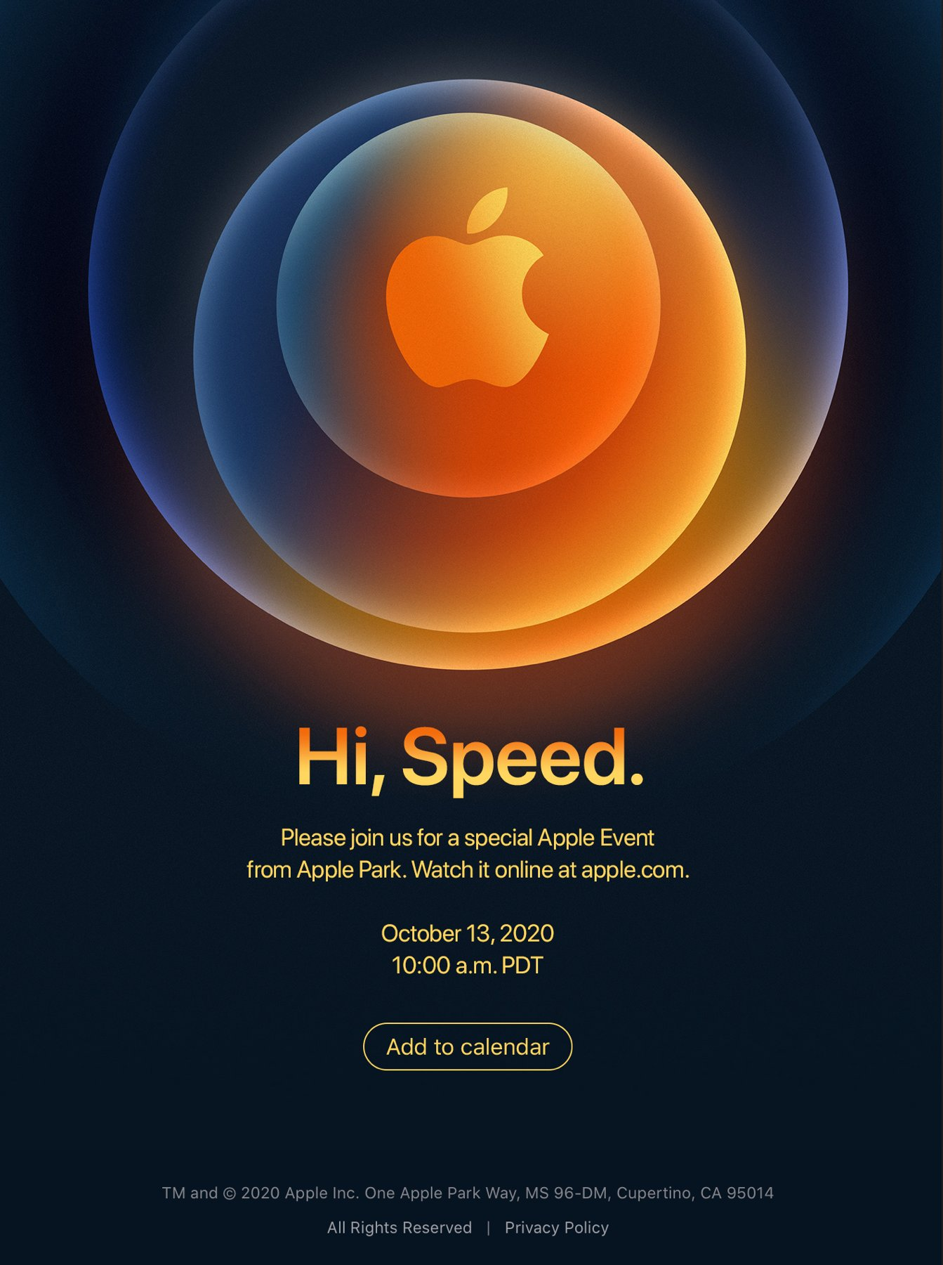 """iPhone 12 Launches Today With The Event Themed """"Hi Speed"""", 5G Could Be The Main Feature"""