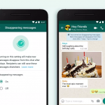 "WhatsApp Launches ""Disappearing Messages"" For Chats From Today"