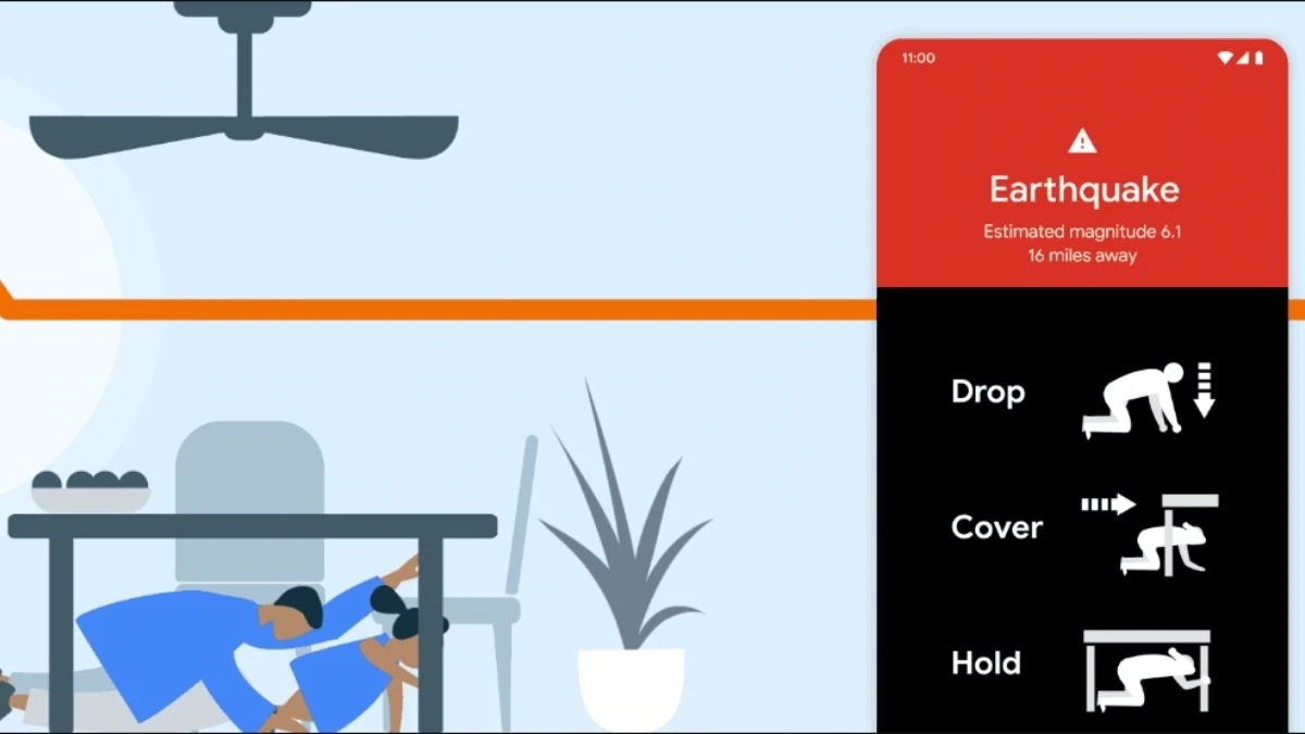 Early Alerts And Earthquake Detection, Now On Your Android Devices