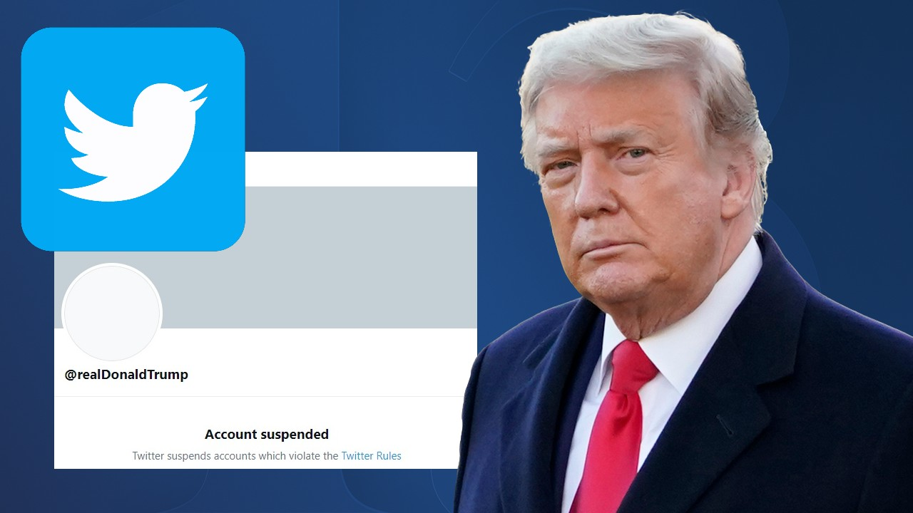 Outgoing United States President Trump Gets A Permanent Twitter Boot